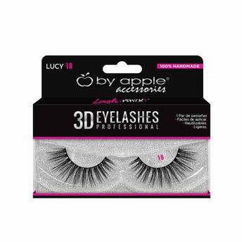 Pestaña Postiza Profesional 3D By Apple # 18 Lucy.