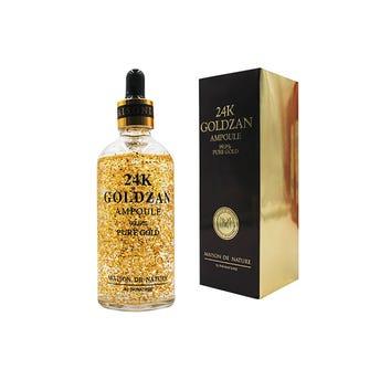 Primer suero hidratante facial 24K GOLDZAN, 100 ml.