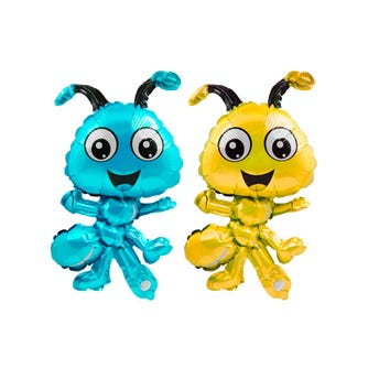 Globo hormiga para niño, inner por color sujeto a disponibilidad, 35 x 22 cm.