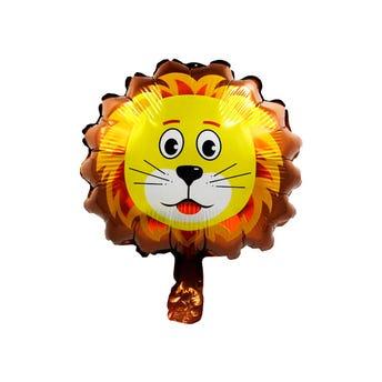 Globo león, 27 x 29 cm.