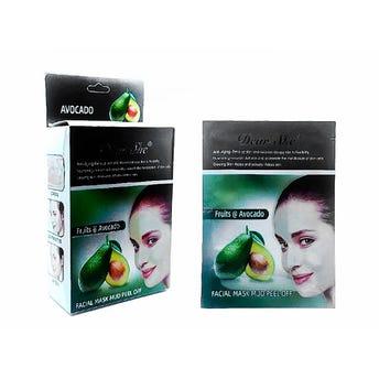 Mascarilla facial de aguacate, hidrata y suaviza la piel, DEAR SHE, 20 grs.