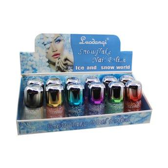 Esmalte para uñas con decoración, LUODANQI, colores surtidos, 15 ml.