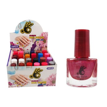 Esmalte para uñas, OK, colores surtidos, 8 ml.