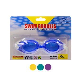 Goggles para natación ajustable infantil, colores y modelos sujetos a disponibilidad.