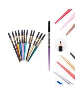 Lápiz delineador con glitter, colores surtidos sujetos a disp, 17 cm.
