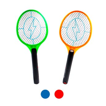 Raqueta mata mosquitos eléctrica recargable, colores y mod surtidos sujetos a disponibilidad, 50 X 2