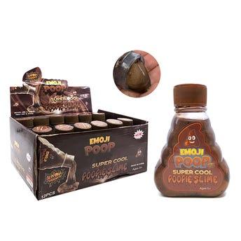 Slime EMOJI POP, café, 10.5 X 3.5 cm.
