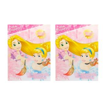 Libro para colorear orig DISNEY UN MOMENTO CON LAS PRINCESAS, 16 pag 20 X 26.5 cm.