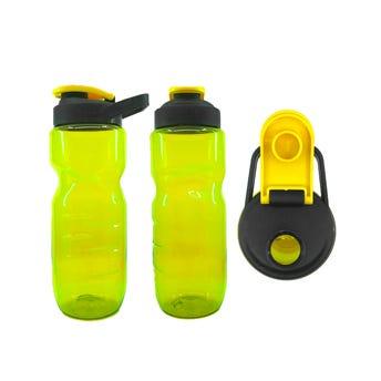 Cilindro sport, amarillo, 750 ml, 22 X 7 cm.