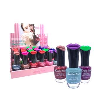 Esmalte para uñas, MODE LOVE VITAMIN, colores surtidos, 20 ml.