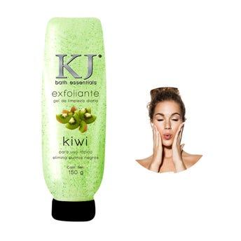Gel exfoliante de kiwi, elimina puntos negros, KJ MARAVILLA, 150 grs.