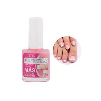 Esmalte para uñas de keratina, MARAVILLA, 15 ml.
