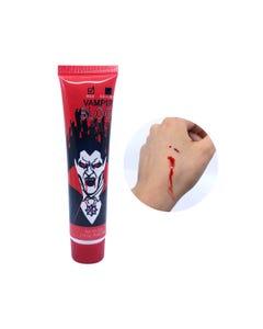 Sangre artificial HALLOWEEN, VAMPIRE BLOOD, rojo, 28 gr.
