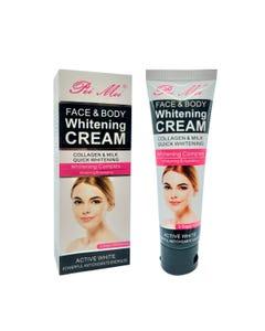 Crema blanqueadora para cara y cuerpo de colágeno, PEI MEI, 120 ml.