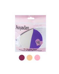 Esponja para maquillaje circular, AOYADAN, colores surtidos, 8 cm