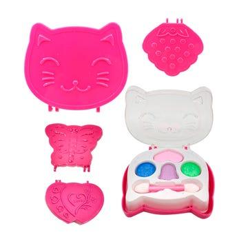 Maquillaje para niña con aplicador, modelos surtidos sujetos a disp, 9 x 7 cm aprox.
