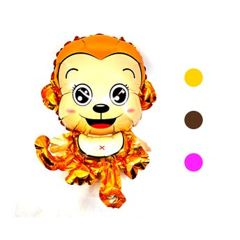 Globo Changuito monky, inner por color sujeto a disp, 30 X 23 cm aprox.