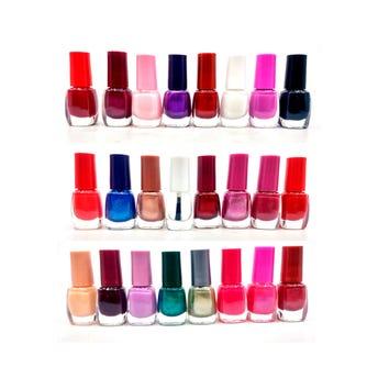 Esmalte para uñas, colores surtidos, 8 ml.