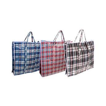 Bolsa de mandado fayuquera con cierre, colores sujetos a disp, 52 X 48 X 27 cm.