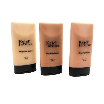 Maquillaje liquido, KEJEL JABIBE MARAVILLA, 3 tonos sujetos a disp, 38 grs.