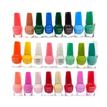 Esmalte para uñas, SANIYE, combinación # 38, 9 ml.