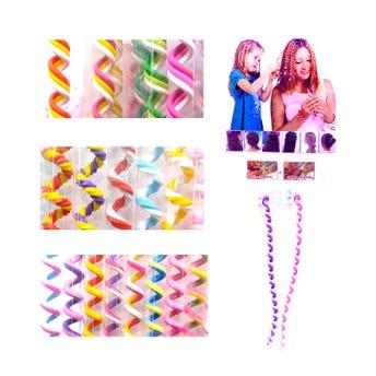 Adorno para cabello en espiral, inner por modelo sujeto a disp, colores surtidos, 20 cm.