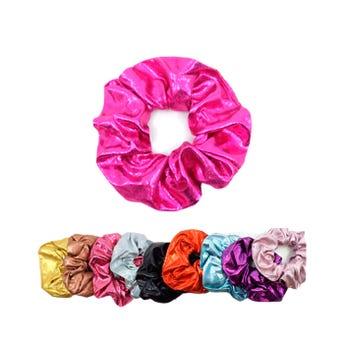 Dona para cabello colores metálicos lisos surtidos, inner por mod sujeto a disp, 11 cm.