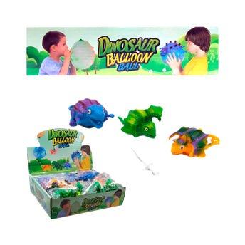 Muñeco dinosaurio pelota inflable, modelos surtidos, 10 x 5 cm aprox