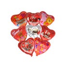Globo corazón decorado TE QUIERO, inner por modelo sujeto a disp, 43 X 43 cm.