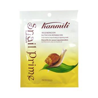 Mascarila facial textil de caracol, HANMILI, rejuvenece, nutre y repara la piel, 30 ml.