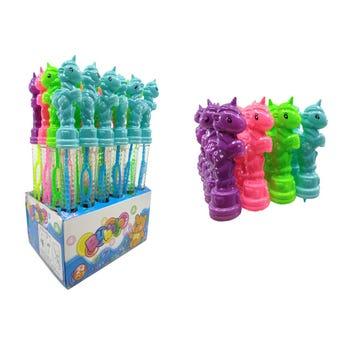 Burbuja unicornio, colores surtidos, 25 cm.