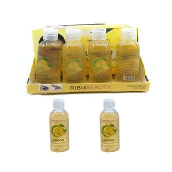 Desmaquillante líquido de limón, RIBIA BEAUTY, 80 ml.