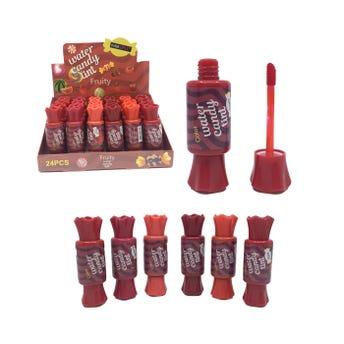 Labial líquido, tinta para labios, CANDY FRUIT, tonos surtidos, 10 ml.