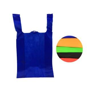 Bolsa textil ecológica con asa, inner por color sujeto a disp, 58 X 33 X 14 cm.