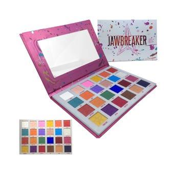 Sombra para ojos, paleta con 24 colores, JAWBREAKER, 36 gr, 24 X 4.5 cm..