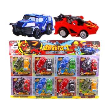 Carro en set de 2 pz, modelos y colores surtidos, 7 cm aprox.