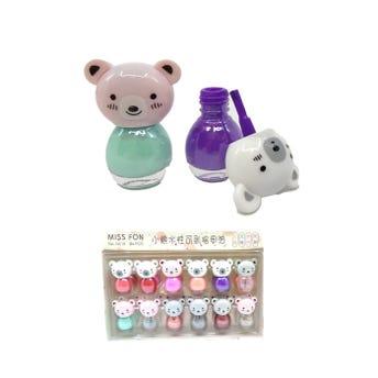 Esmalte para uñas oso colores surtidos, 8 gr.