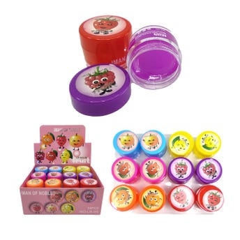 Lip balm frutal para labios, IMAN OF NOBLE, 6 aromas surtidos, 10 grs.