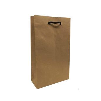 Bolsa para regalo KRAFT CHICA vertical, 26 x 15.5 x 7 cm