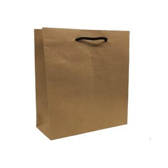 Bolsa para regalo KRAFT MEDIANA vertical, 25.5 x 20.5 x 7.5 cm