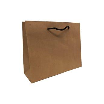Bolsa para regalo KRAFT # 02 horizontal, 25 x 20 x 8.5 cm