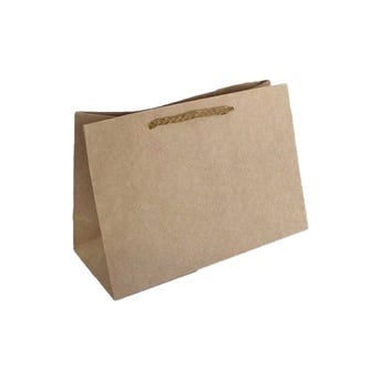 Bolsa para regalo KRAFT # 03 horizontal, 31 x 23 x 10 cm