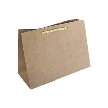 Bolsa para regalo KRAFT # 04 horizontal, 35 x 27 x 10.5 cm.