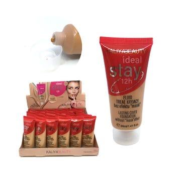 Maquillaje líquido IDEAL STAY, 3 tonos surtidos, 40 ml.