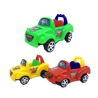 Carro de fricción, colores surtidos, 11 x 7 x 5 cm.