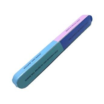 Lima para uñas 8 en 1, colores surtidos, 18 X 2 X 1.5 cm.
