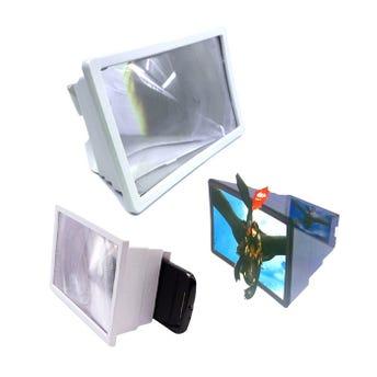 Pantalla para celular 3D 18 x 12.5 x 8.5 cm
