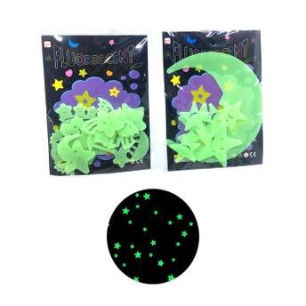 Adorno fluorescente, modelos surtidos, 15 cm aprox.