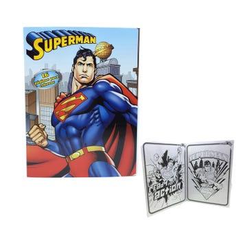 Libro para colorear orig SUPERMAN, 16 pag, 20 X 26.5 cm