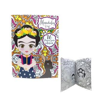 Libro para colorear orig MANDALAS FK, 16 pag, 20 X 26.5 cm